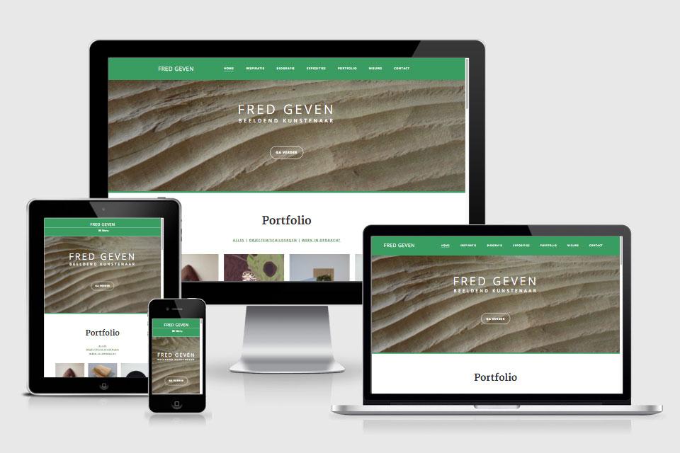 Fred Geven responsive design