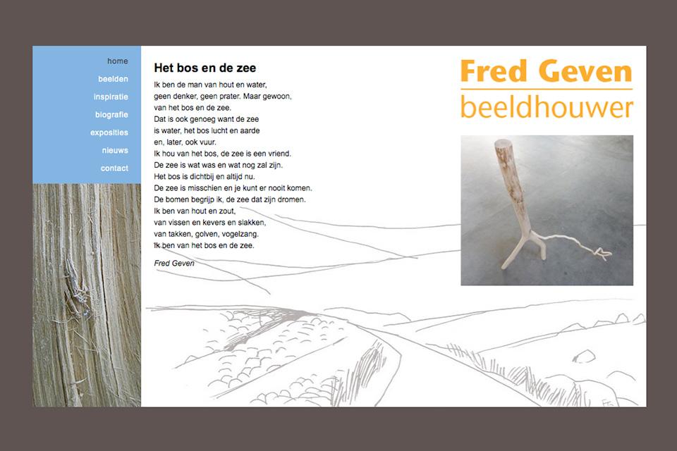 website Fred Geven